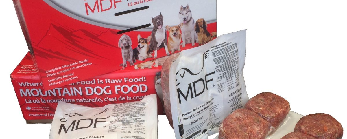 Mountain Dog Food frozen raw pet food for dogs and cats.