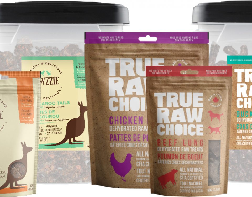 True Raw Choice & Pawzzie pet treats and chews for dogs and cats